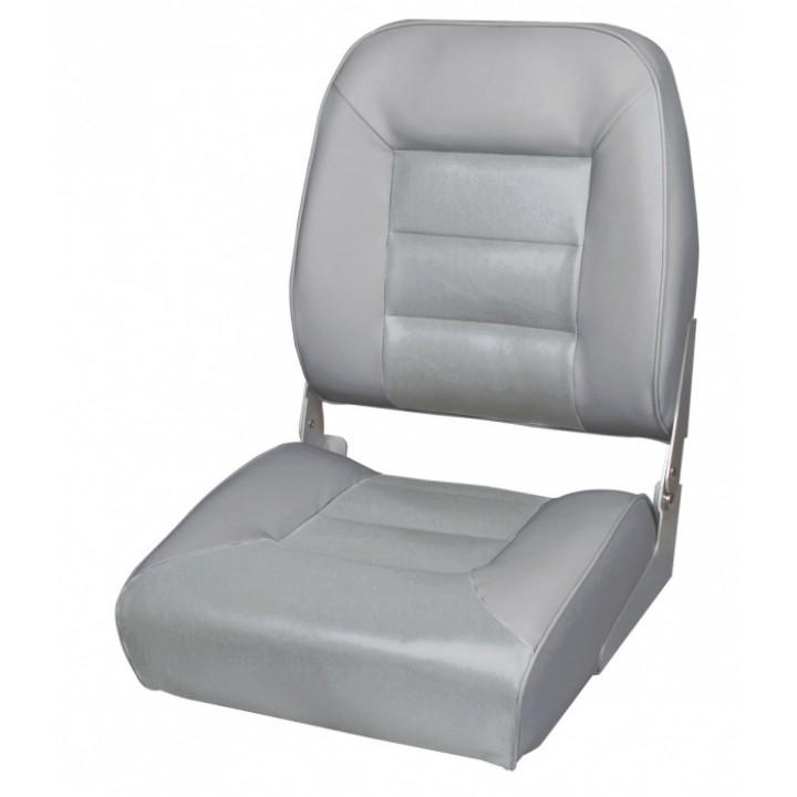 Кресло для лодки Premium High Back Boat Seat - серый