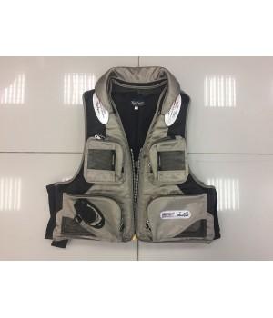 Жилет спасательный  Aqua Sport Grey