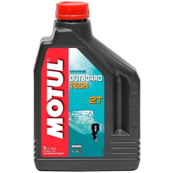 Масло моторное Motul Outboard 2T Tech (2л)
