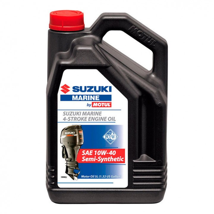 Масло моторное Motul Suzuki Marine Semi-Synthetic 4T 10W-40 (5л)