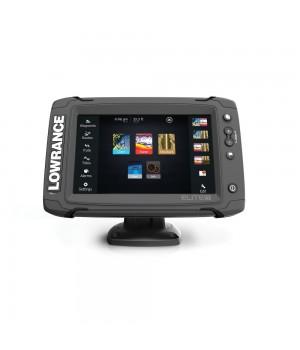 Эхолот-картплоттер Lowrance Elite-7 Ti с датчиком TotalScan