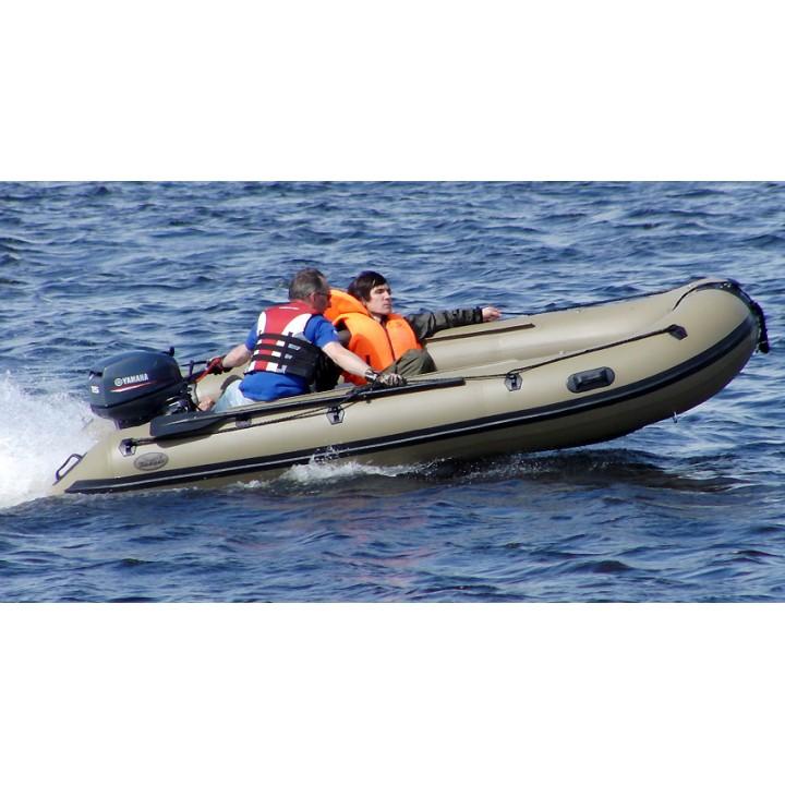 Надувная лодка ПВХ Badger (Баджер) Duck Line 430 AL