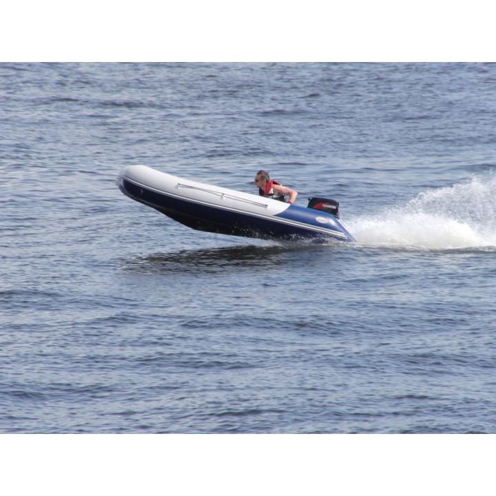 Надувная лодка ПВХ Badger (Баджер) Heavy Duty 430 AL