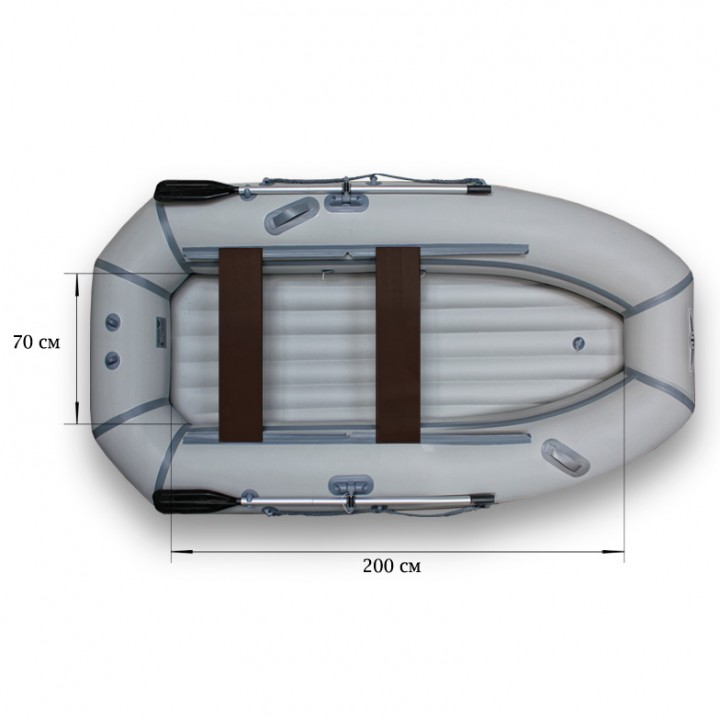 Надувная лодка ПВХ Флагман 280 HT