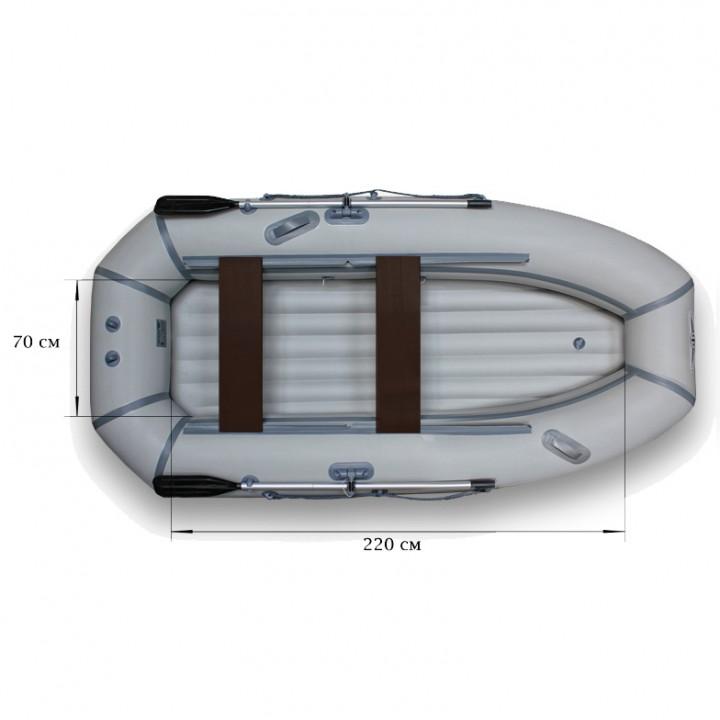 Надувная лодка ПВХ Флагман 300 HT