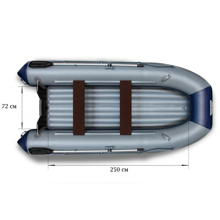 Надувная лодка ПВХ Флагман 350 L