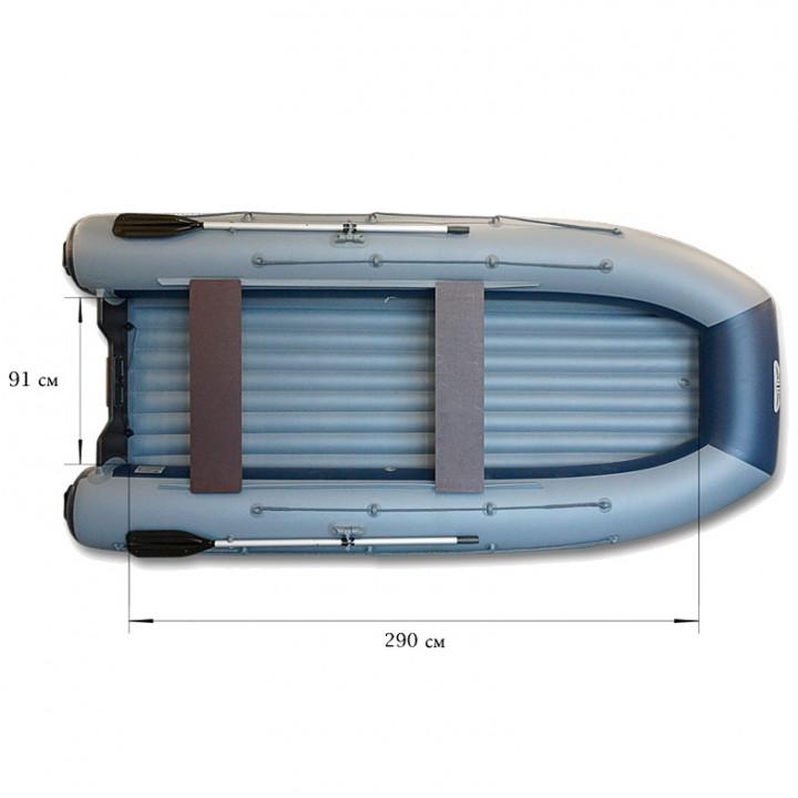 Надувная лодка ПВХ Флагман DK 350 AIR
