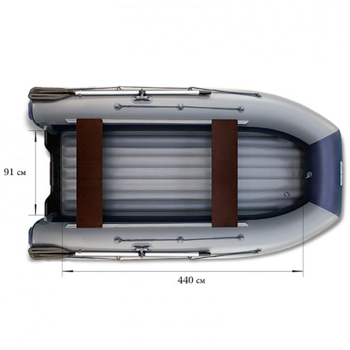 Надувная лодка ПВХ Флагман DK 500 JET