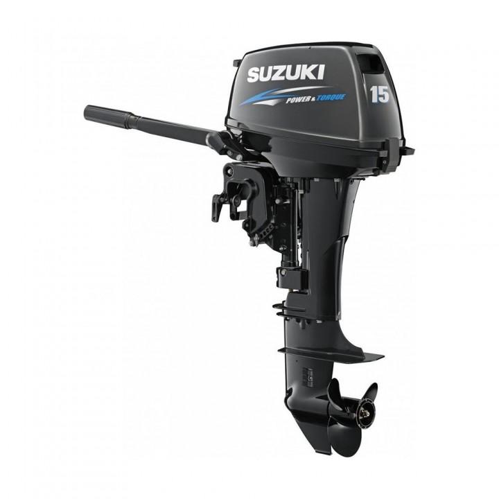 Лодочный мотор Suzuki DT 15 AS (Сузуки ДТ 15 АС)