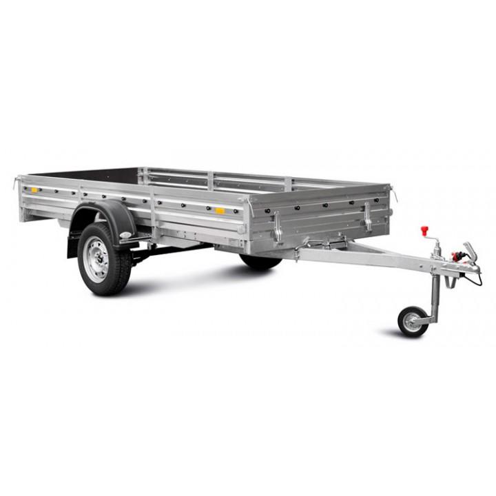Прицеп МЗСА 817711.012 для транспортировки снегоходов и другой мототехники