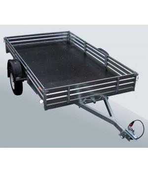 Прицеп МЗСА 817716.001 для перевозки различных крупногабаритных грузов и мототехники (2-х спортивных снегоходов, квадроциклов (ATV), некоторых вездеходов Арго, мотоциклов и др.)