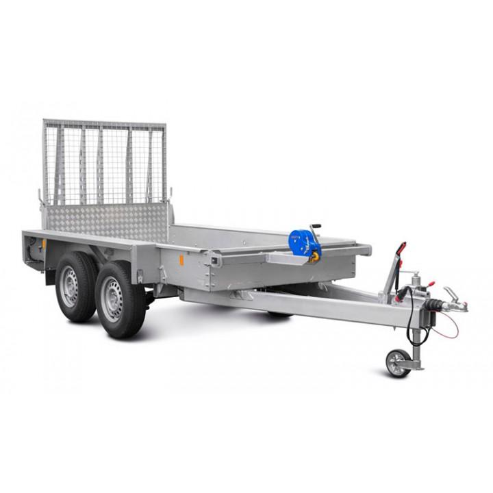 Прицеп МЗСА 842111.201 для перевозки мини-спецтехники