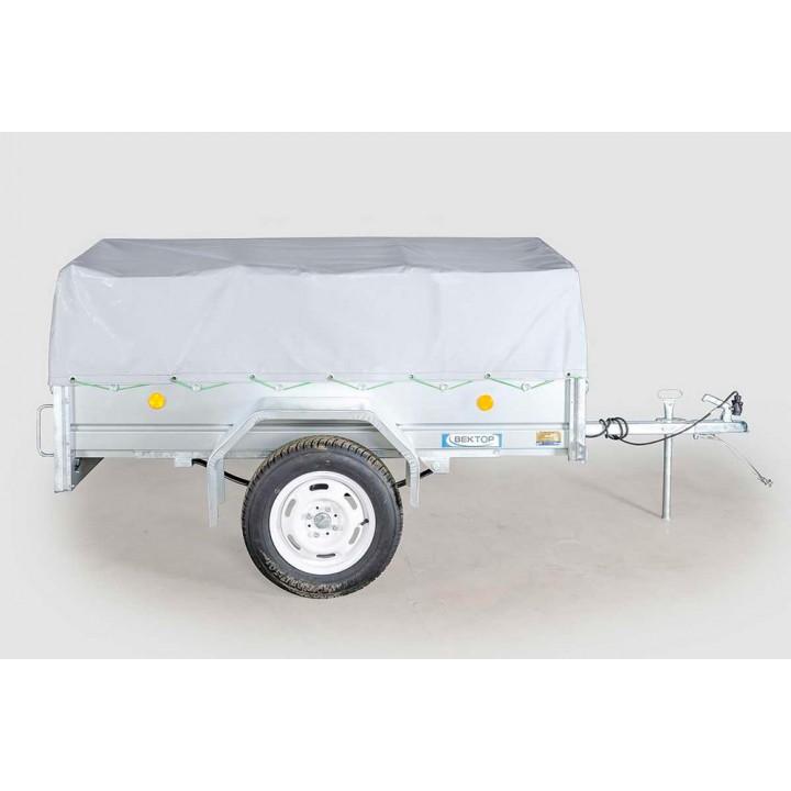 ПРИЦЕП ЛАВ 81011 для перевозки различных грузов. Тент в комплекте.