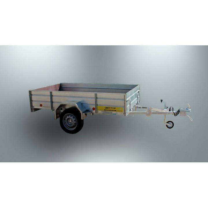 ПРИЦЕП ЛАВ 81011A для перевозки различных грузов, в т.ч. мотоцикла, квадроцикла.