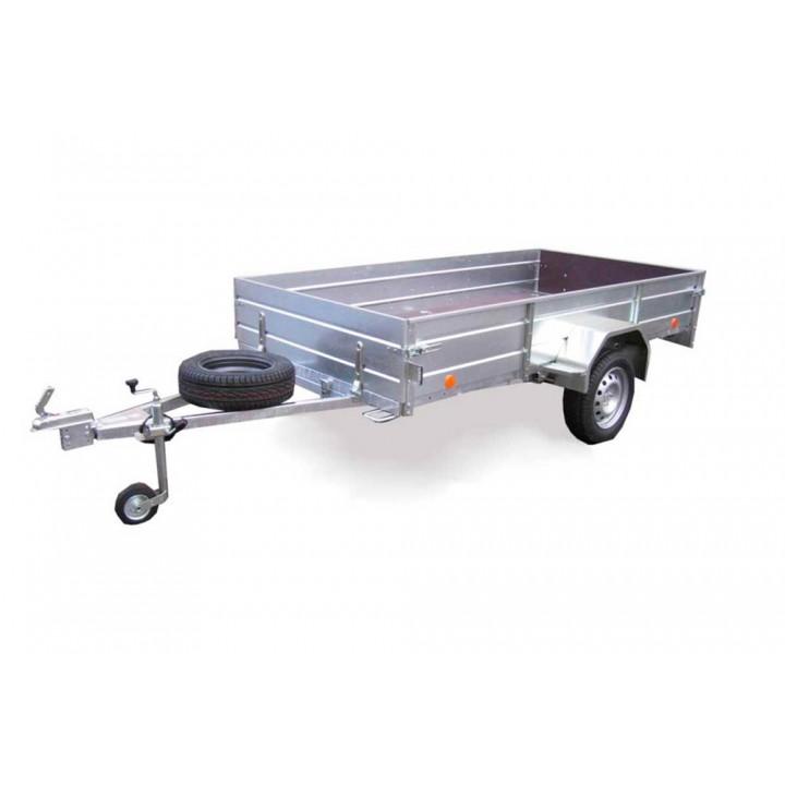 ПРИЦЕП ЛАВ 81011C ЕВРО для перевозки различных грузов. Кузов откидывается.