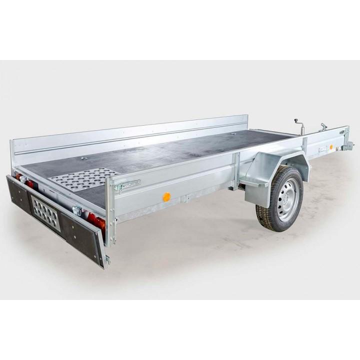 ПРИЦЕП ЛАВ 81012A для перевозки мотоцикла, квадроцикла и других грузов.
