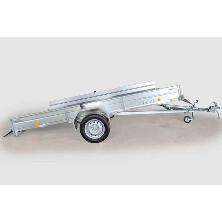 ПРИЦЕП ЛАВ 81012C для перевозки мотоцикла, квадроцикла и других грузов.
