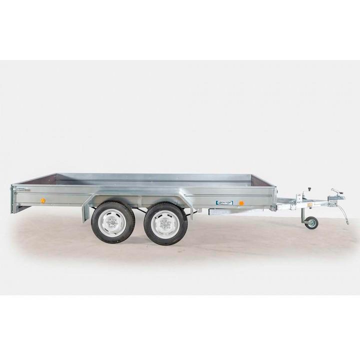 ПРИЦЕП ЛАВ 81013 бортовой с откидным кузовом для перевозки техники и других грузов.