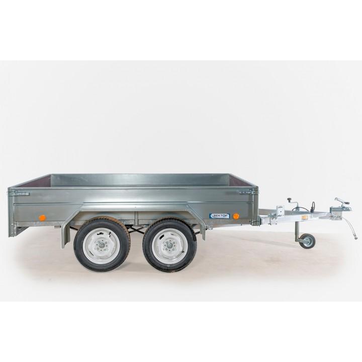 ПРИЦЕП ЛАВ 81013B для перевозки техники и других грузов.