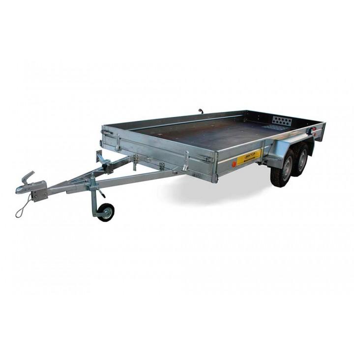 ПРИЦЕП ЛАВ 81013E 4.0 бортовой для перевозки техники и других грузов.