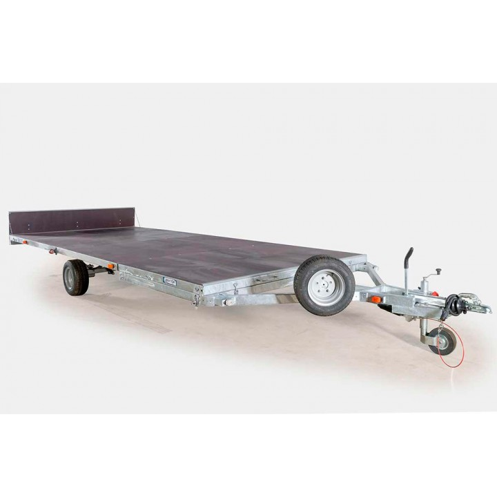 ПРИЦЕП ЛАВ 81019 для перевозки судна на воздушной подушке