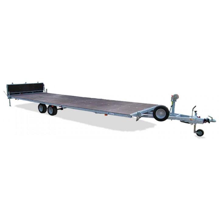 ПРИЦЕП ЛАВ 81019A для перевозки судна на воздушной подушке, вертолёта.
