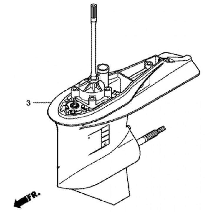 Редуктор для лодочного мотора Сузуки Suzuki  DF300AP/250AP