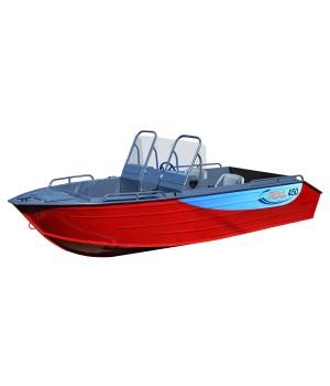 Алюминиевая лодка Рейд 450 DС