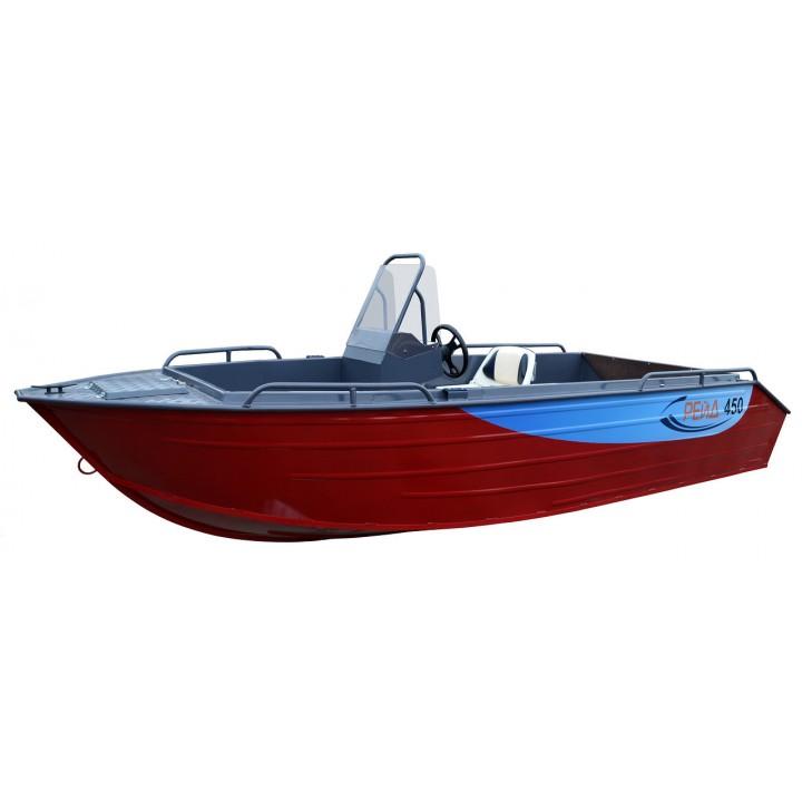 Алюминиевая лодка Рейд 450 С