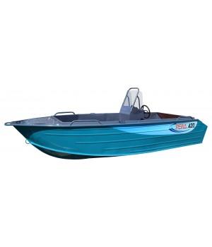 Алюминиевая лодка Рейд 420 С